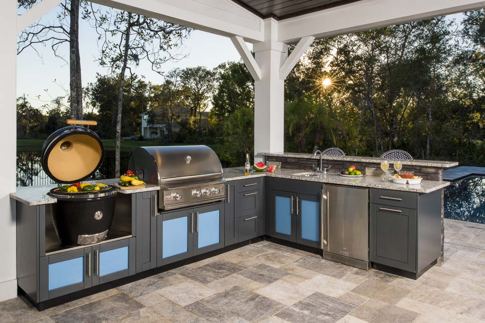 dallas outdoor kitchen design